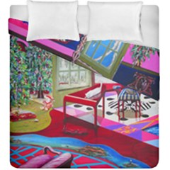 Christmas Ornaments and Gifts Duvet Cover Double Side (King Size) from Sharon Tatem Fashions LLC Fashion Wearable Art Dresses, Tops, Skirts, Swim Suits, Beach Bags, Art Prints