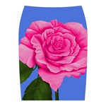 Roses Collections Midi Wrap Pencil Skirt from Sharon Tatem Fashions LLC Fashion Wearable Art Dresses, Tops, Skirts, Swim Suits, Beach Bags, Art Prints Back